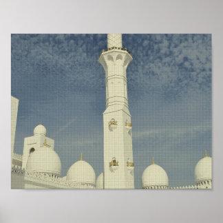 abu dhabi minaret art.jpg poster