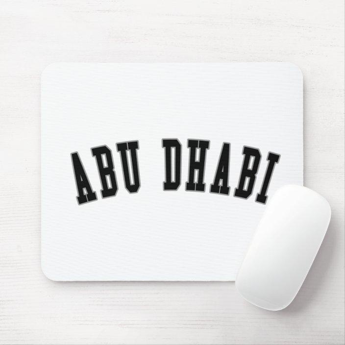 Abu Dhabi Mouse Pad