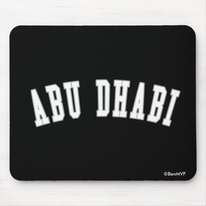 Abu Dhabi Mousepad