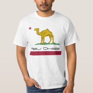 Abu Dhabi not California Republic T-Shirt