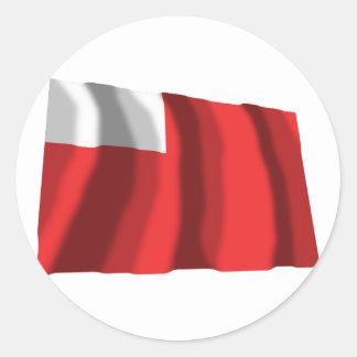 Abu Dhabi que agita la bandera Pegatinas