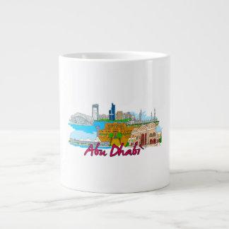 Abu Dhabi - Saudi Arabia Giant Coffee Mug