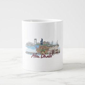 Abu Dhabi - Saudi Arabia.png Large Coffee Mug