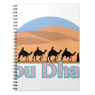 Abu Dhabi Spiral Notebook