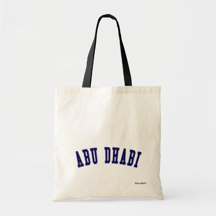 Abu Dhabi Tote Bag