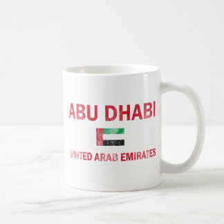 Abu Dhabi UAE designs Coffee Mug