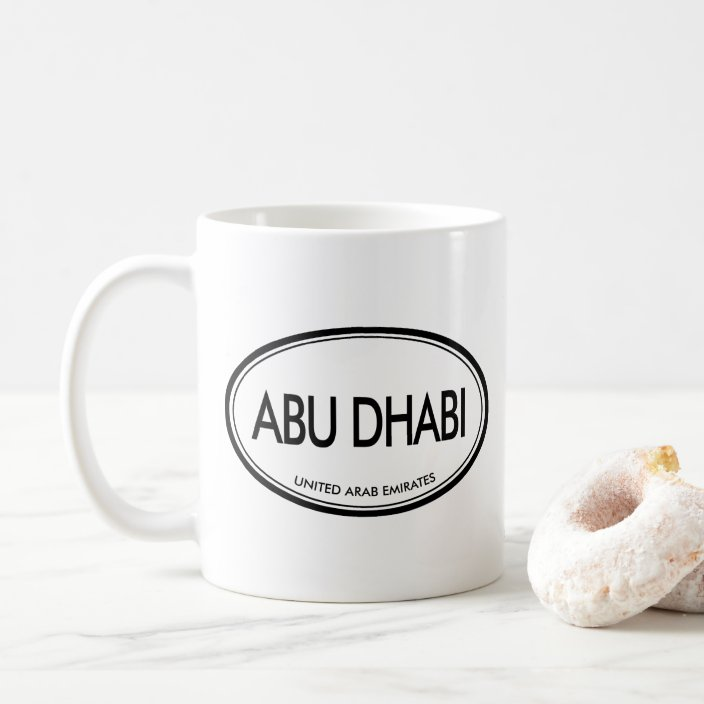 Abu Dhabi, United Arab Emirates Coffee Mug