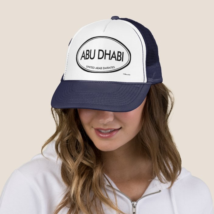 Abu Dhabi, United Arab Emirates Mesh Hat