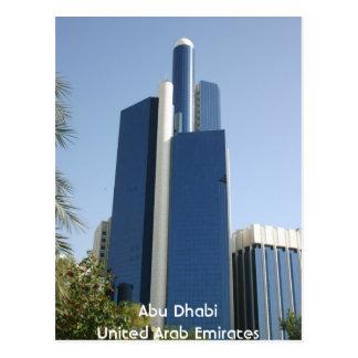 Abu Dhabi United Arab Emirates Postcard