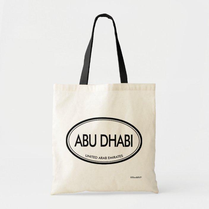 Abu Dhabi, United Arab Emirates Tote Bag