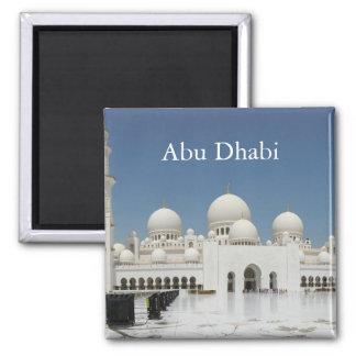 Abu Dhabi Vintage Travel Tourism Magnet