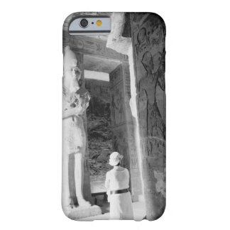 Abu Simbel Egypt, Tourist inside Temple (NR) Barely There iPhone 6 Case