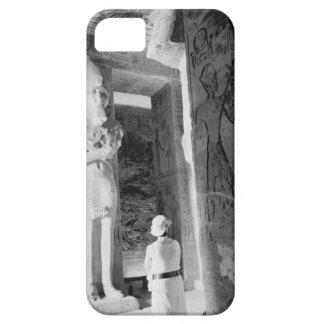 Abu Simbel Egypt, Tourist inside Temple (NR) iPhone SE/5/5s Case