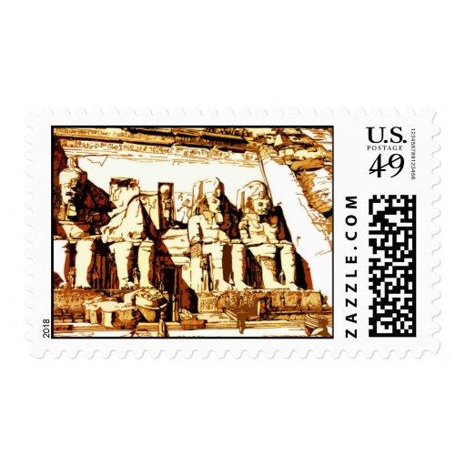 Abu Simbel - Postage