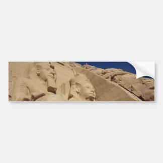 Abu Simbel Temple Bumper Sticker