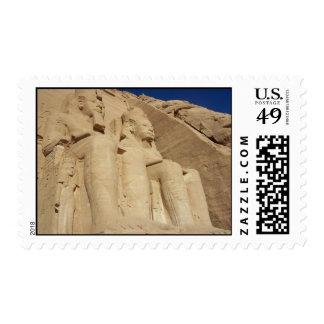 Abu Simbel Temple Stamps
