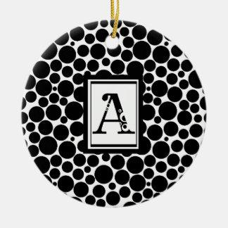 abubble ceramic ornament