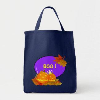 ¡Abucheo! Bolso del regalo de Halloween Bolsas Lienzo