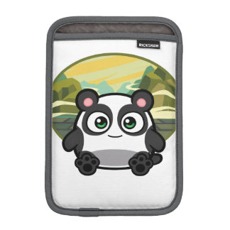 Abucheo como caso del iPad de la panda mini Fundas De iPad Mini