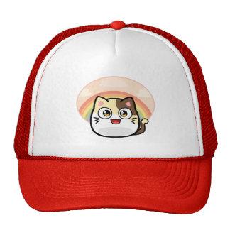 Abucheo como productos del diseño del gato gorro de camionero