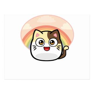 Abucheo como productos del diseño del gato postales