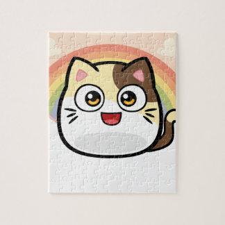 Abucheo como productos del diseño del gato puzzle