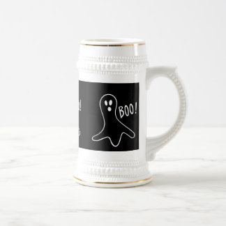 ¡abucheo de grito de los fantasmas divertidos de H Tazas De Café