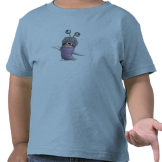 Abucheo de los monstruos inc en traje camisetas