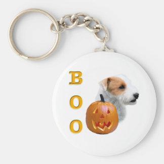 Abucheo de Russell Terrier capa rota del párroco Llaveros Personalizados