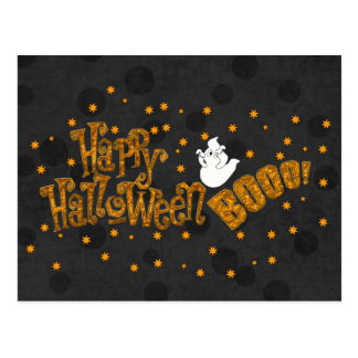 Abucheo del feliz Halloween Postales