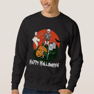 ¡Abucheo del feliz Halloween! Sudadera Con Capucha