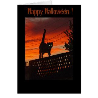 ¡Abucheo del feliz Halloween! Tarjeta