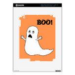 ¡Abucheo! Dibujo animado asustado lindo del fantas iPad 3 Skins