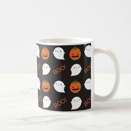 ¡Abucheo! Es Halloween Taza De Café