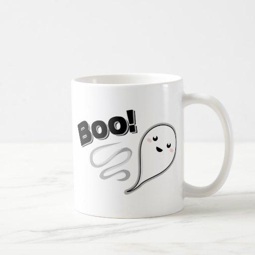 ¡Abucheo! Fantasma Taza De Café