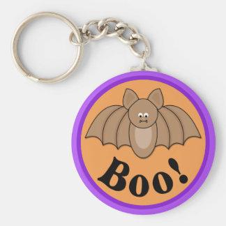 Abucheo Halloween del palo del dibujo animado Llaveros Personalizados