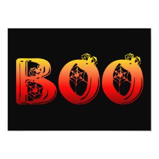 """Abucheo Halloween Invitación 5"""" X 7"""""""