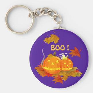 ¡ABUCHEO! Halloween Llavero Personalizado