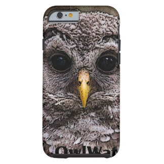 Abucheo - Owlet 2014 de Owlwatch Funda Para iPhone 6 Tough