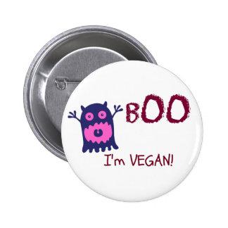 Abucheo soy botón del vegano pins