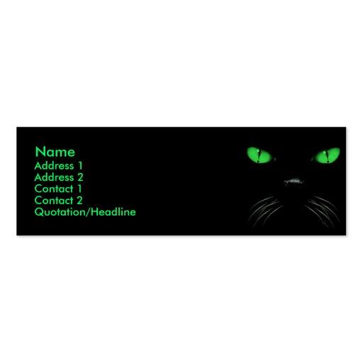 Abucheo - tarjeta esmeralda del perfil plantillas de tarjetas personales