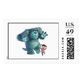 Abucheo y Sulley de Monsters Inc. Sello Postal