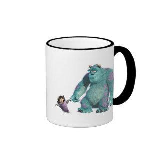 Abucheo y Sulley de Monsters Inc Taza De Café