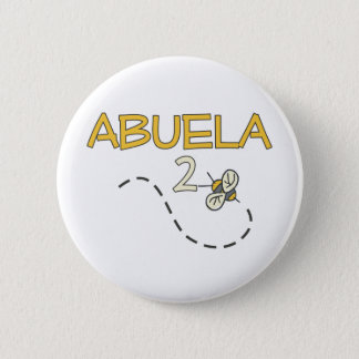 Abuela 2 Bee Button