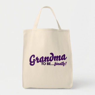 Abuela a estar finalmente bolsa tela para la compra