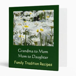 Abuela a la mamá a la receta de la tradición de la