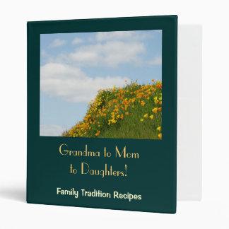 ¡Abuela a la mamá a las hijas! Libro de las receta