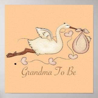 Abuela a ser póster