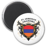 Abuela armenia del número uno iman de nevera