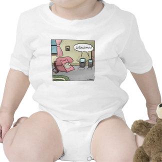 ¡Abuela!  Camisa para los bebés